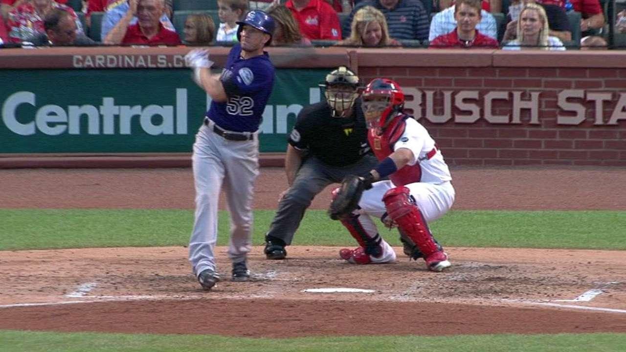 Rusin's two-run homer