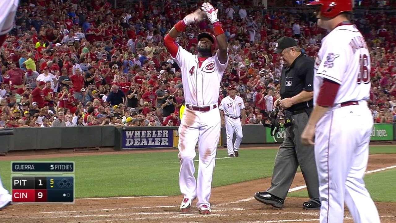 Phillips' three-run homer
