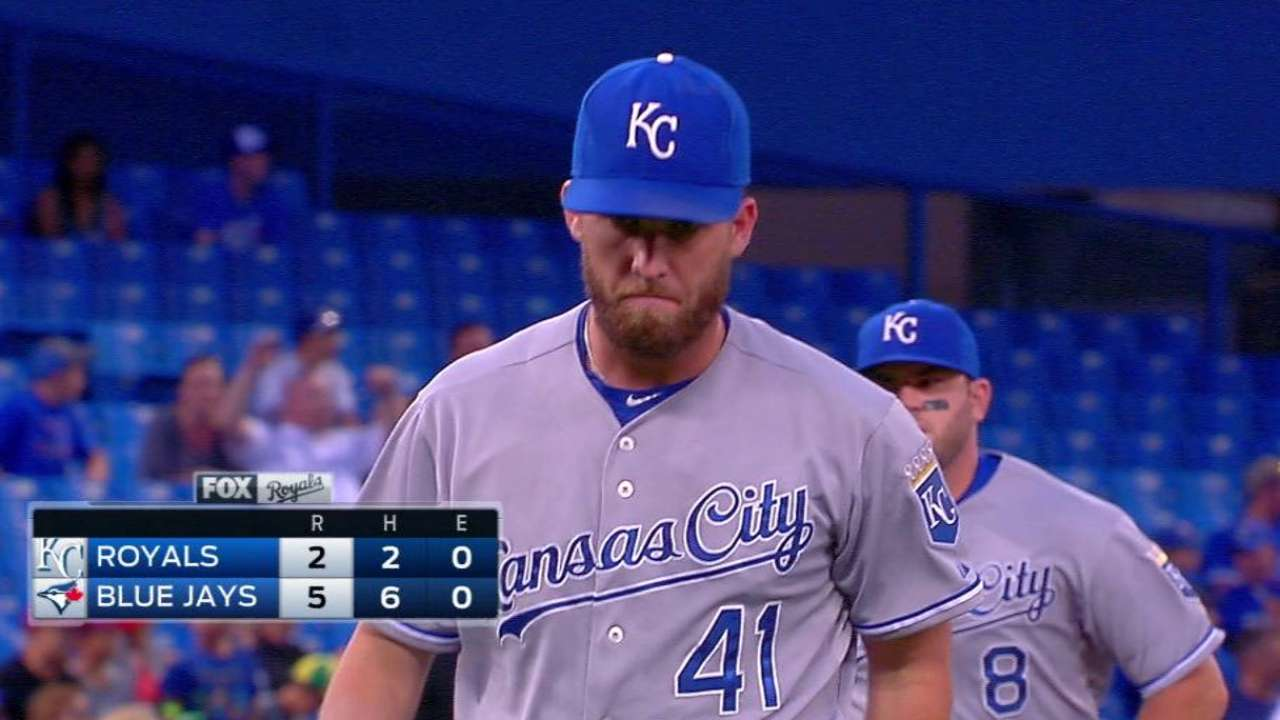 Duffy disappointed with results against Jays