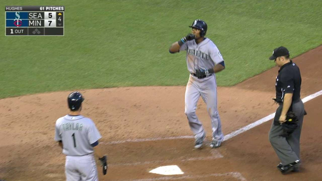 Mariners can't recover after Happ stumbles early