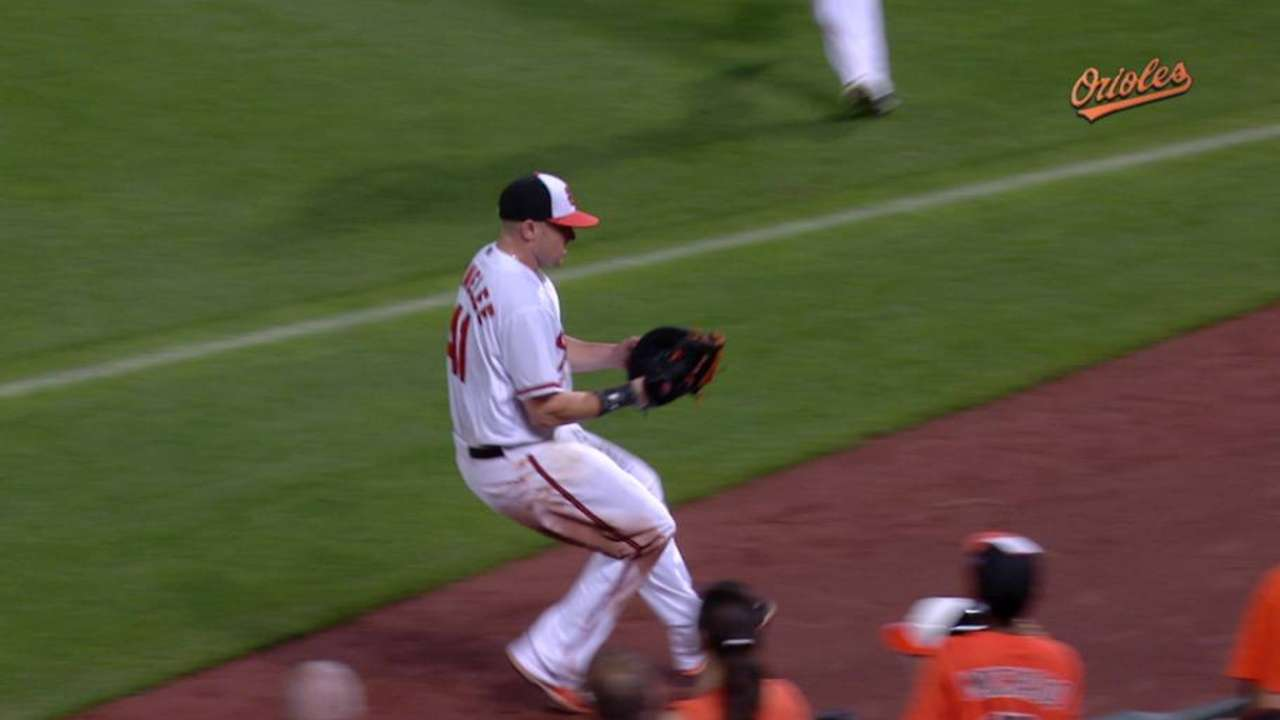 Parmelee outrighted to Triple-A Norfolk