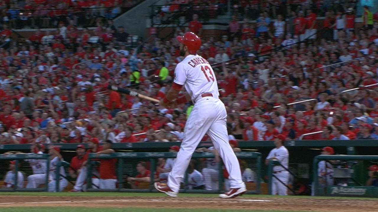 Carpenter's return to top of lineup pays off