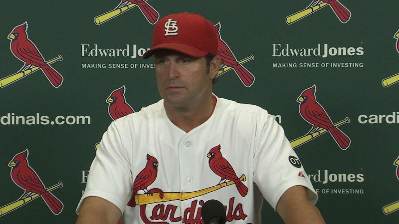 Matheny on Cardinals' walk-off