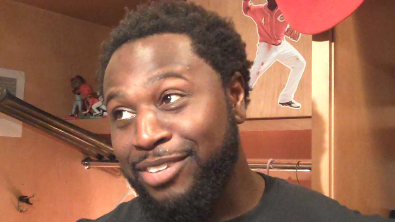 Phillips, Holmberg on Reds' win