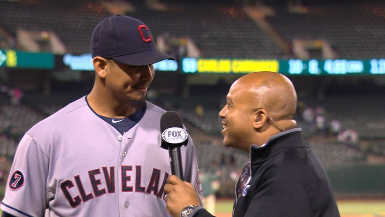 Carrasco on complete-game win
