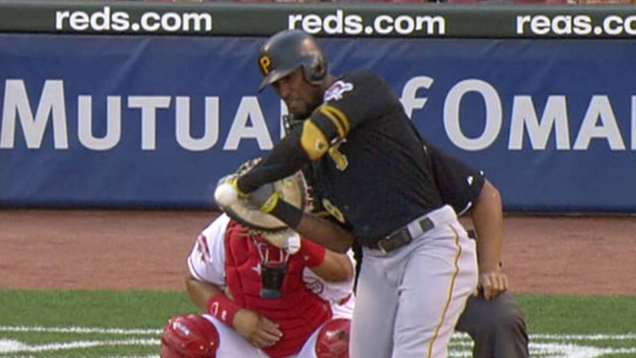 Marte ruled hit-by-pitch