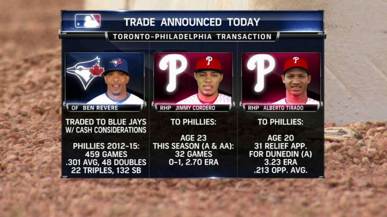 Phils' broadcast on trades