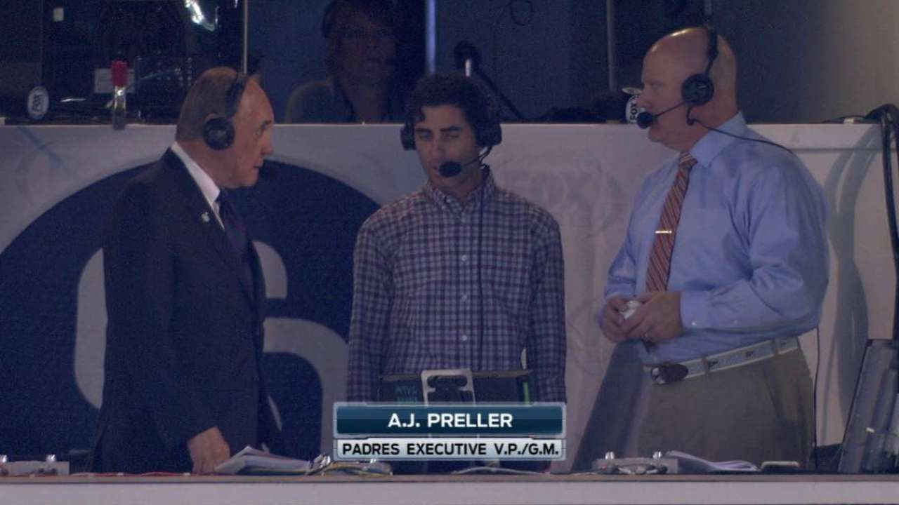 Preller on Padres' trade moves