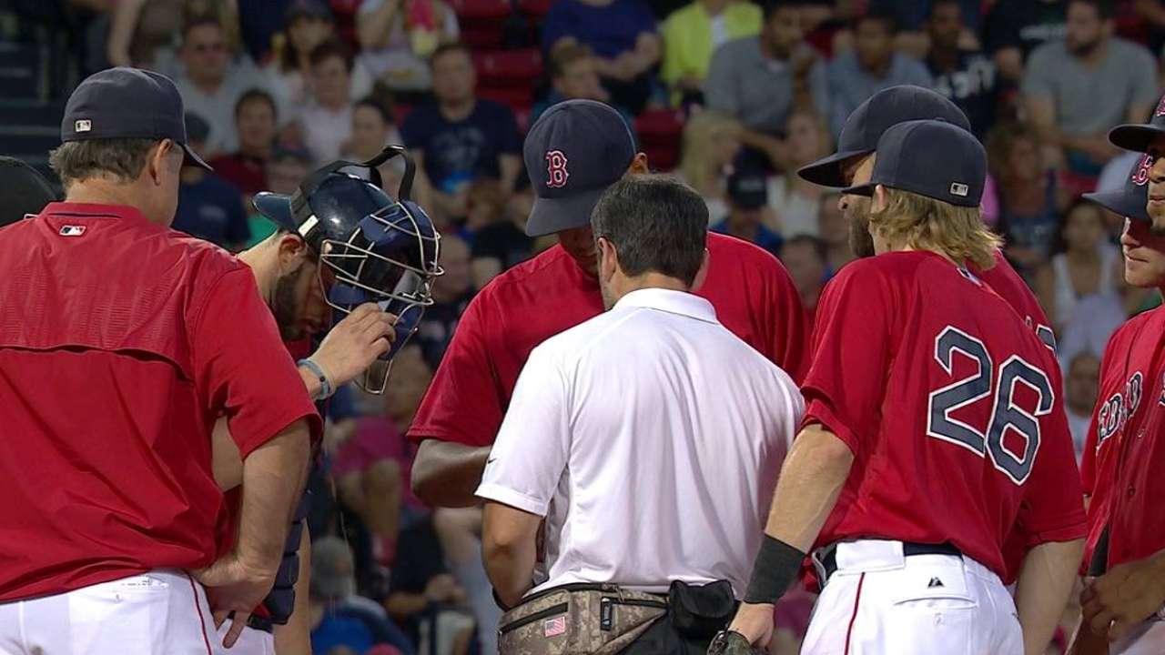 Rodriguez shakes off wildness in gutsy effort