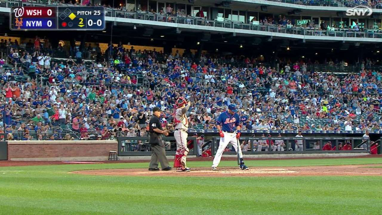 Flores gets standing ovation