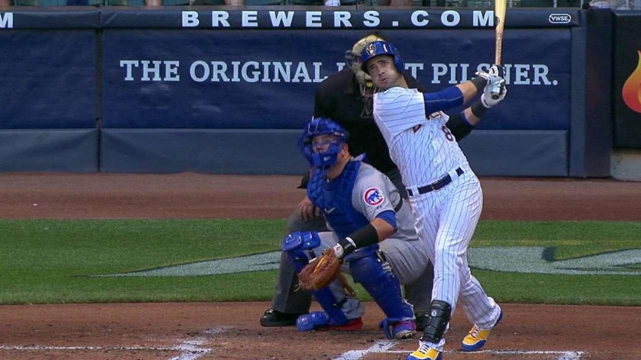 Braun's 19th homer