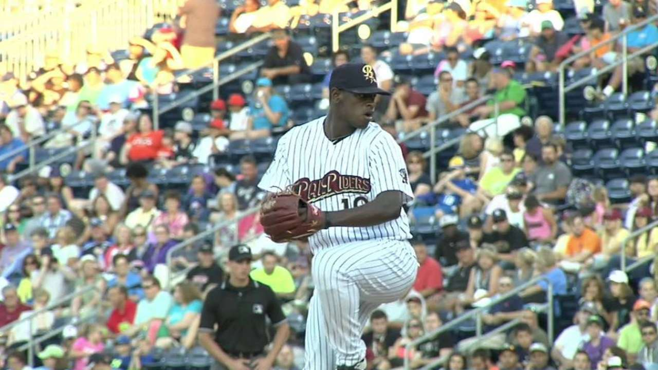 Severino's rise lifted by great expectations