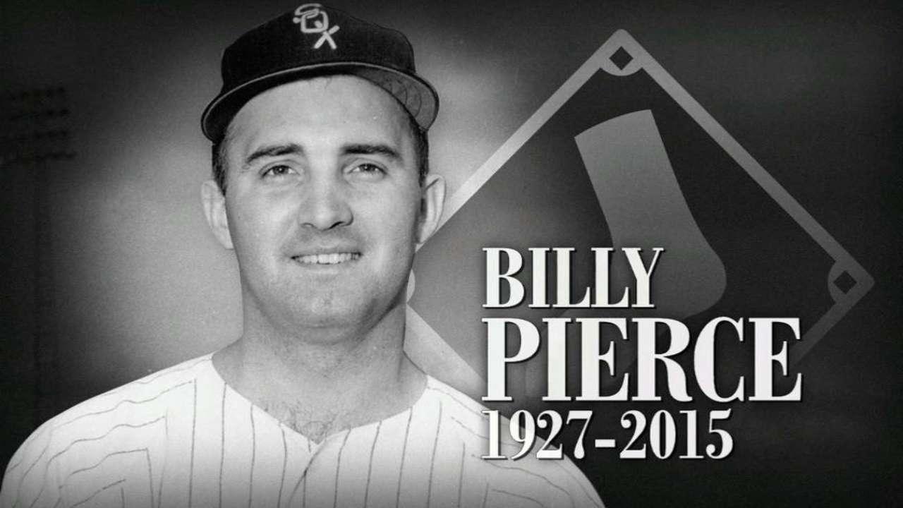 Broadcast on Pierce's passing