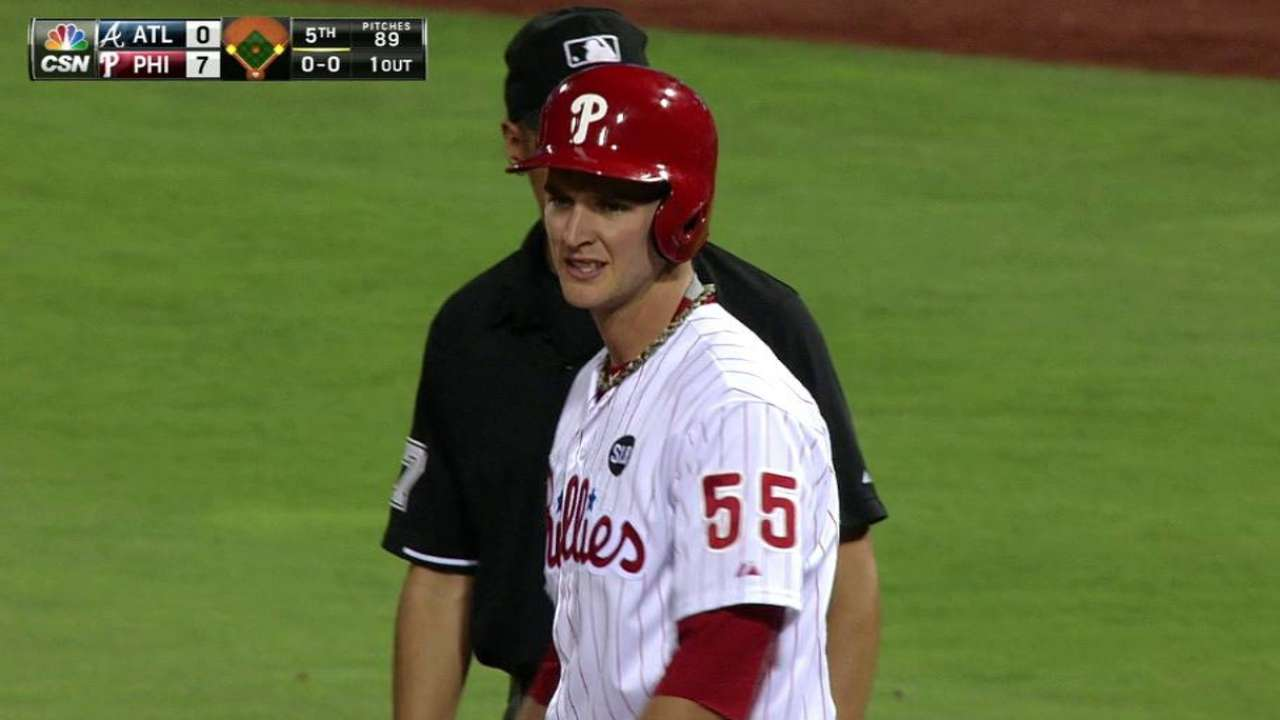 Phillies option Buchanan, promote Jimenez