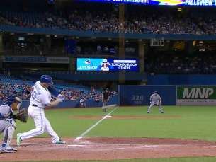 KC@TOR: Donaldson lines an RBI double to the gap