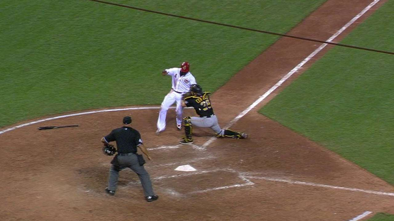 Marte nabs Phillips to save lead