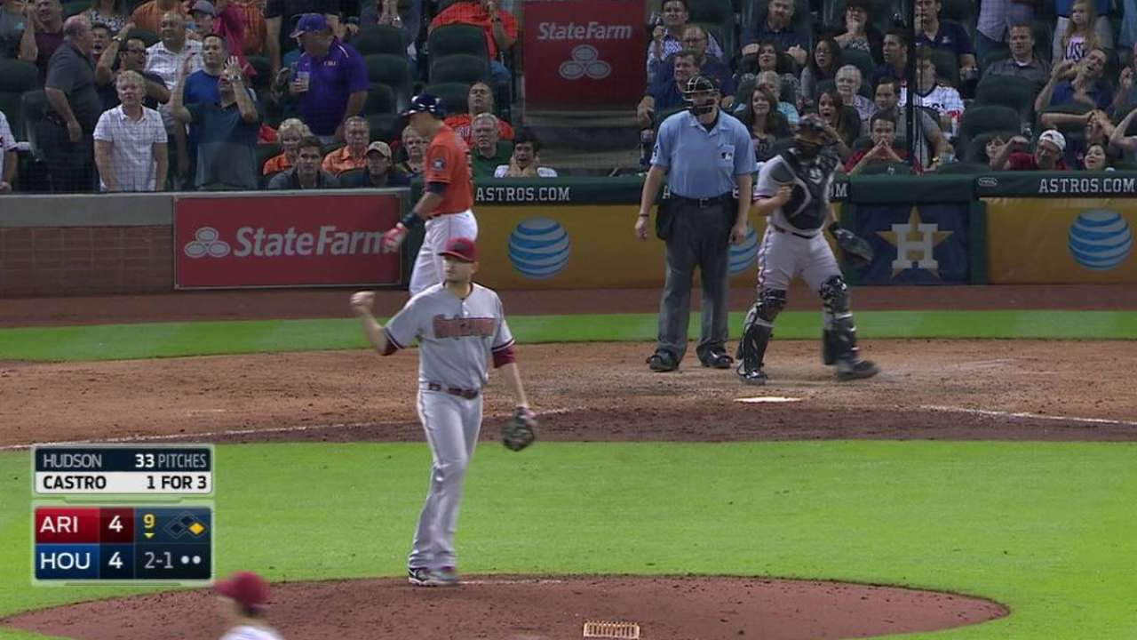 Hudson picks off Gonzalez