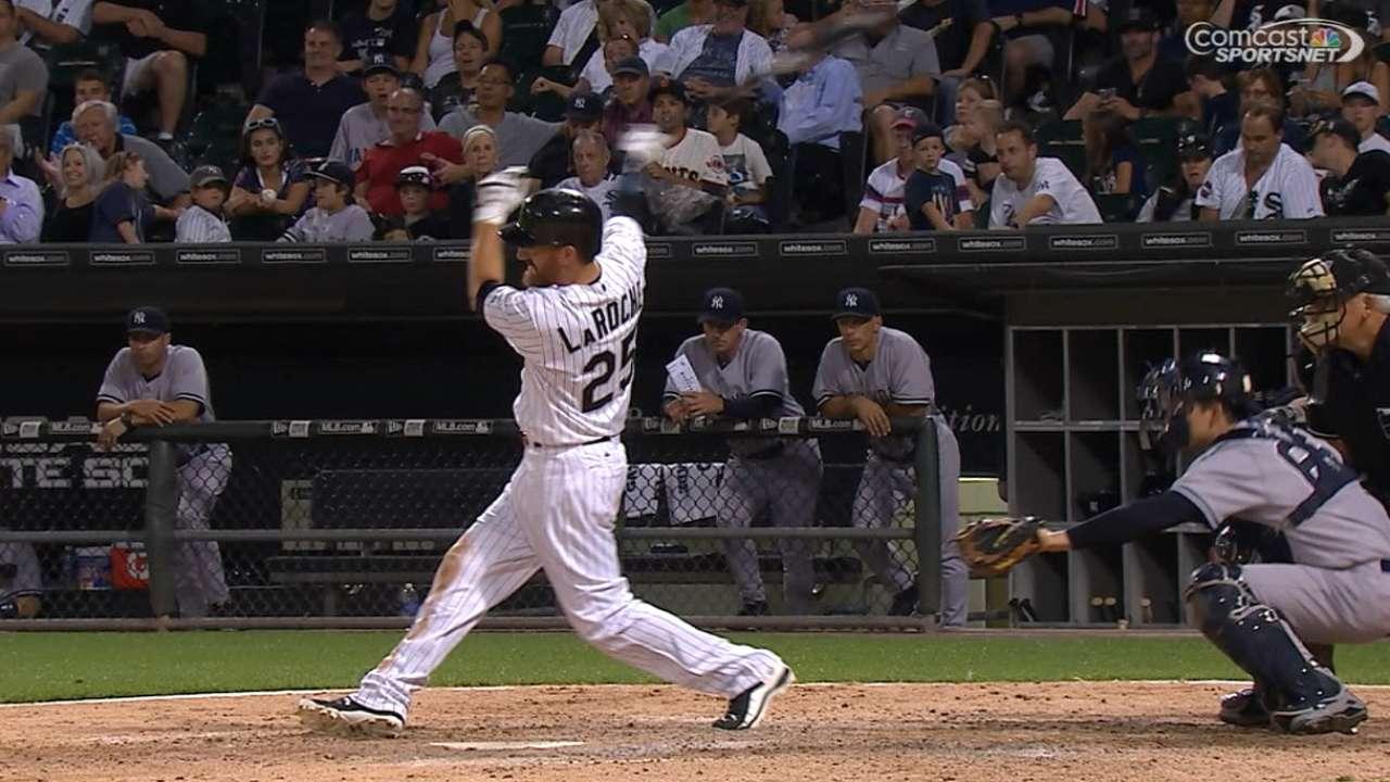LaRoche's four-hit game