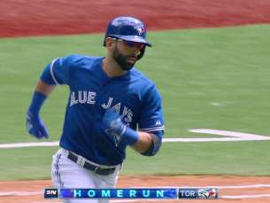 KC@TOR: Bautista follows Donaldson with a solo homer