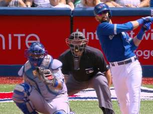 KC@TOR: Bautista hits two homers for Blue Jays
