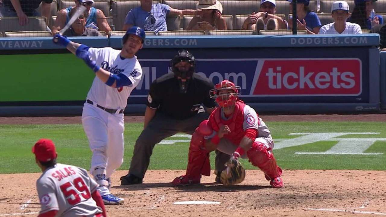 Backed by burst, Kershaw shuts down Angels