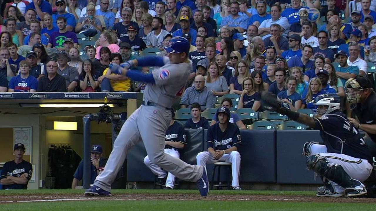Rizzo's three-run blast