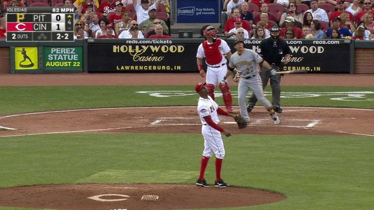 Bucs rally in 9th, but fall to Reds
