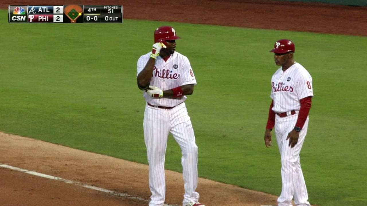 Howard's hot streak helping to carry Phillies