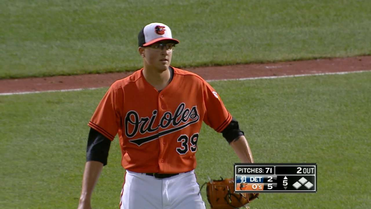 Gausman slows Tigers as O's do the driving