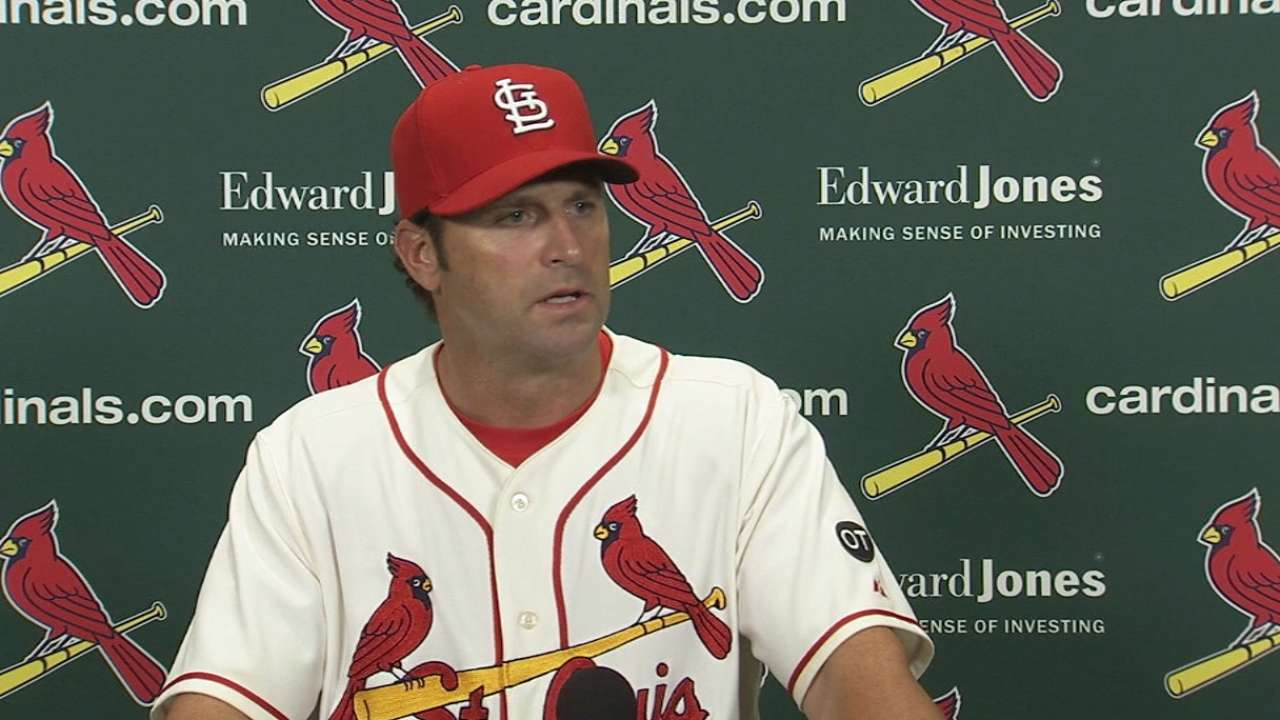 Matheny on the team's defense