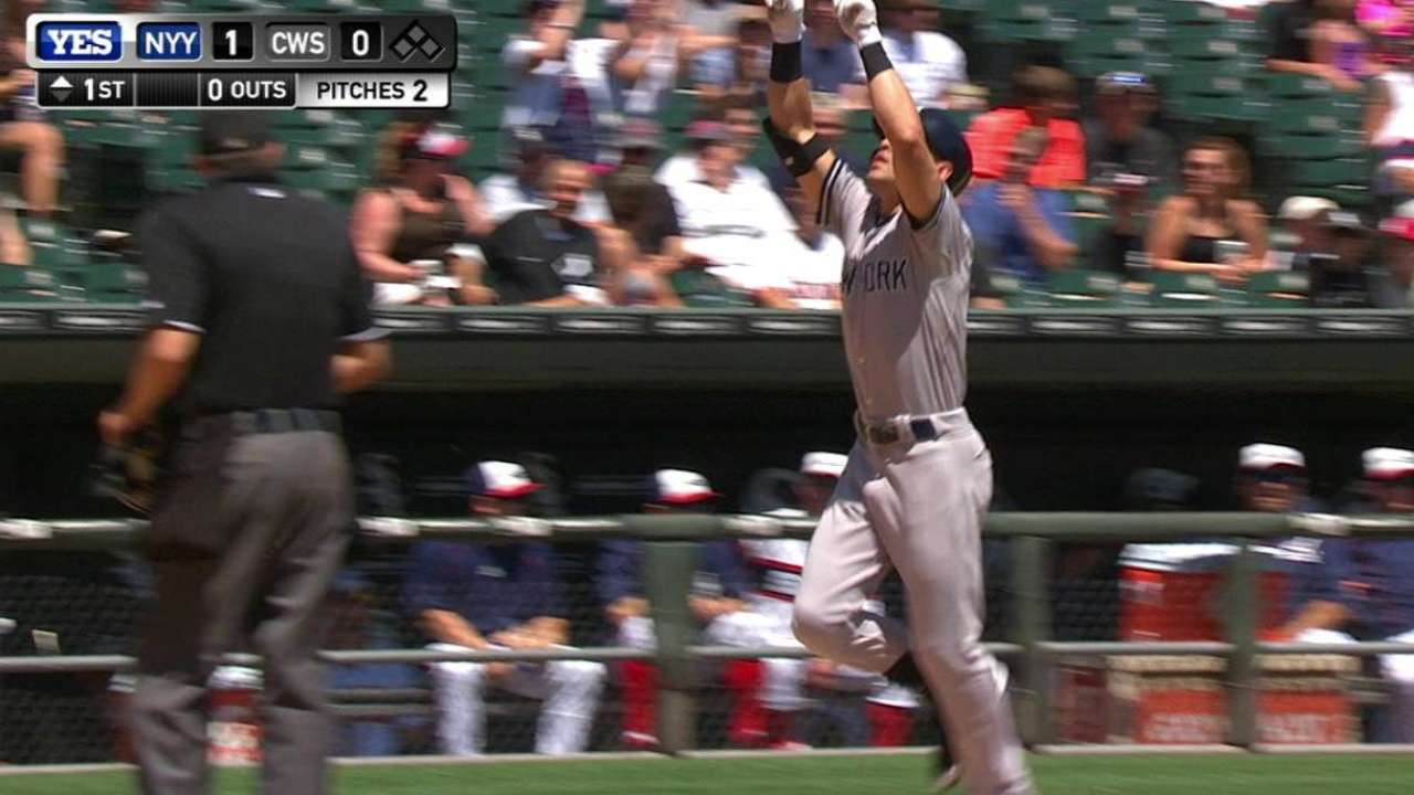 Yankees in total control in Chicago finale