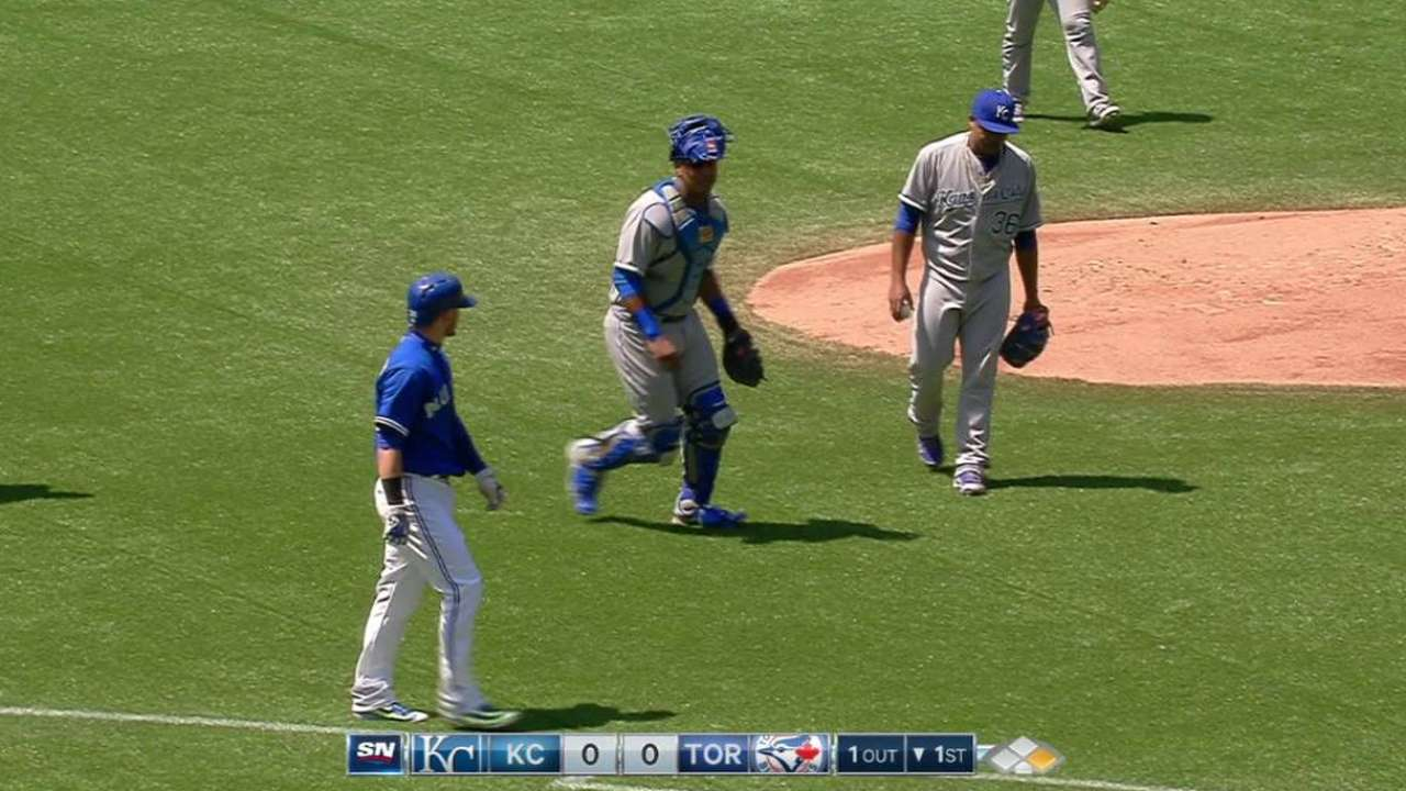 Royals expect to have hands full vs. Blue Jays