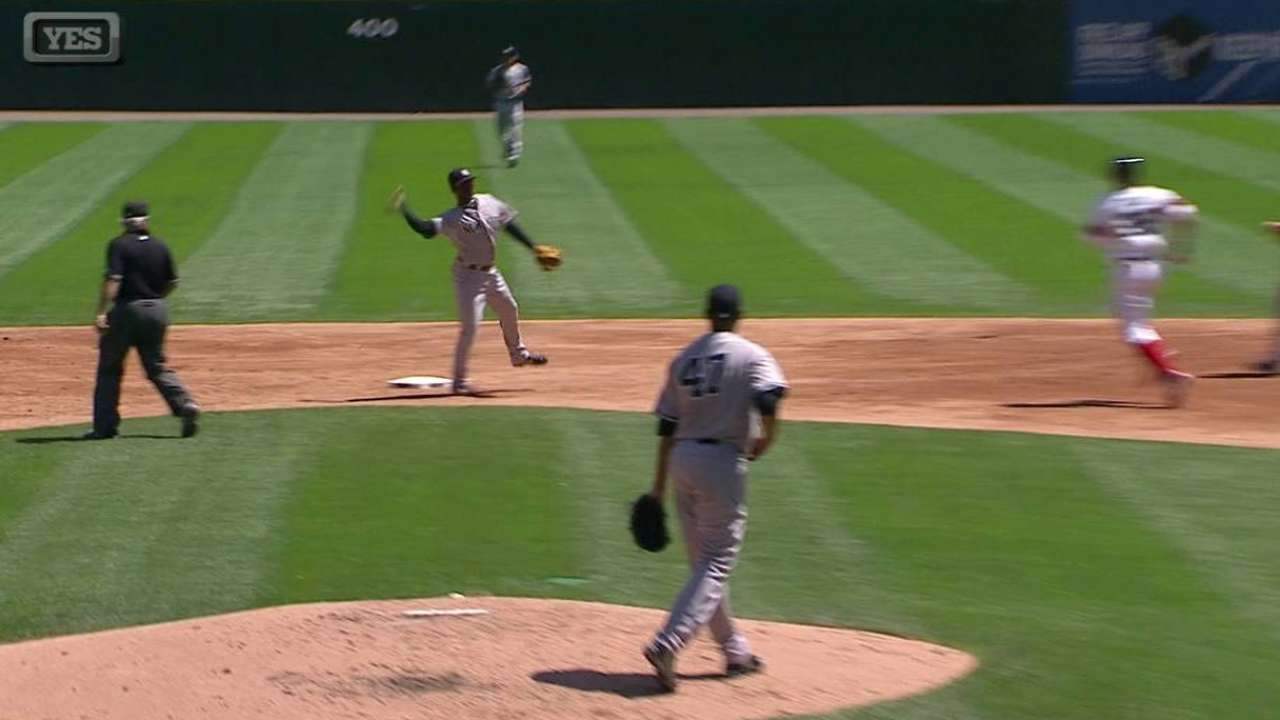 Gregorius has done well taking over for Jeter