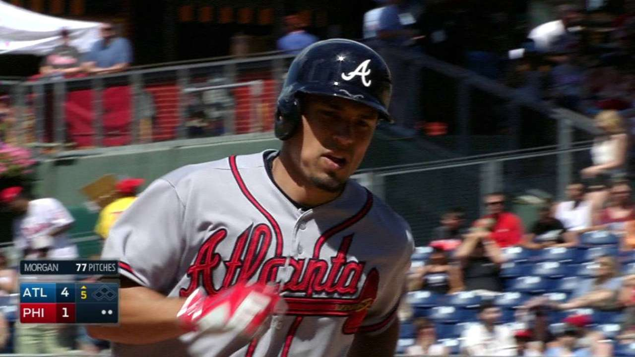 Braves beat Phillies, snap 6-game skid