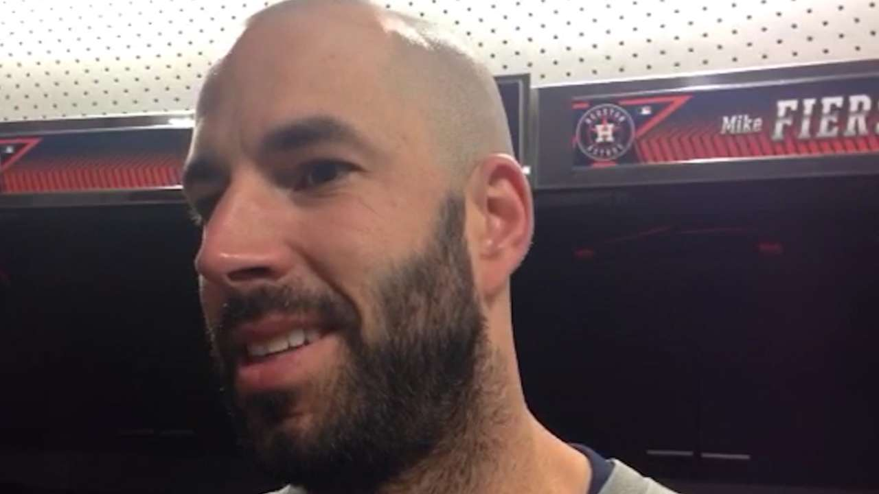 Fiers fired up to make Astros debut