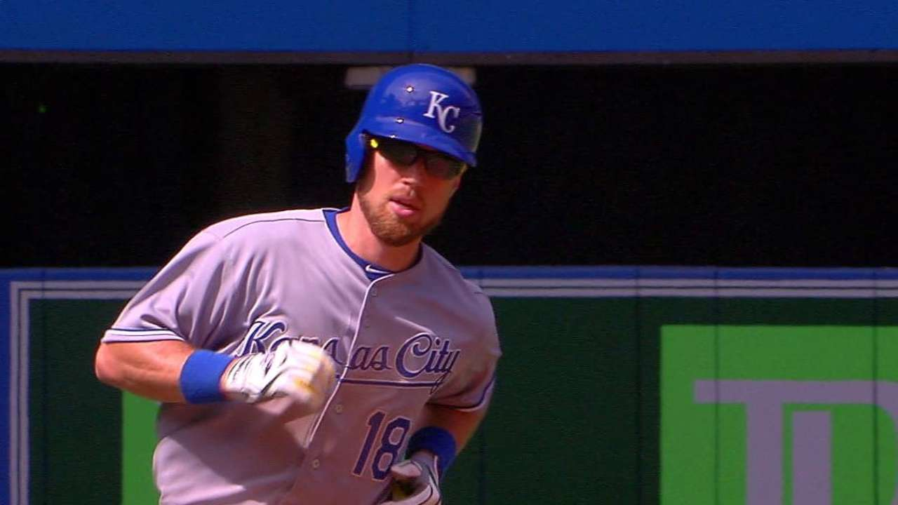 Zobrist's blast isn't enough to rescue Royals