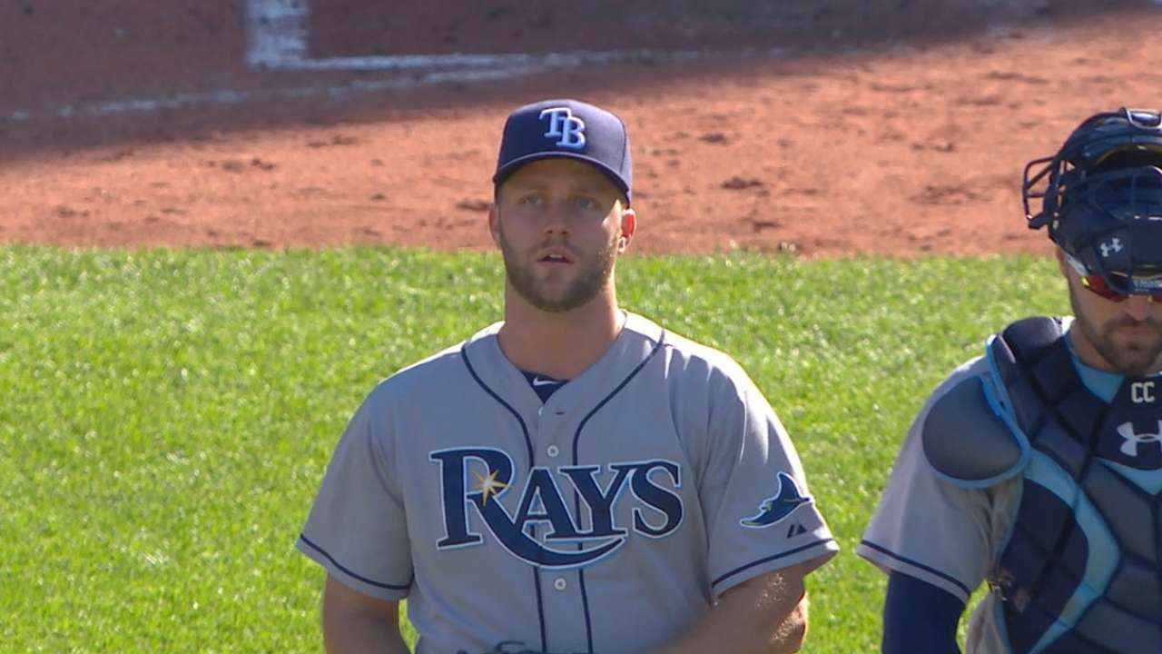 Rays' bullpen slams door on rival Red Sox