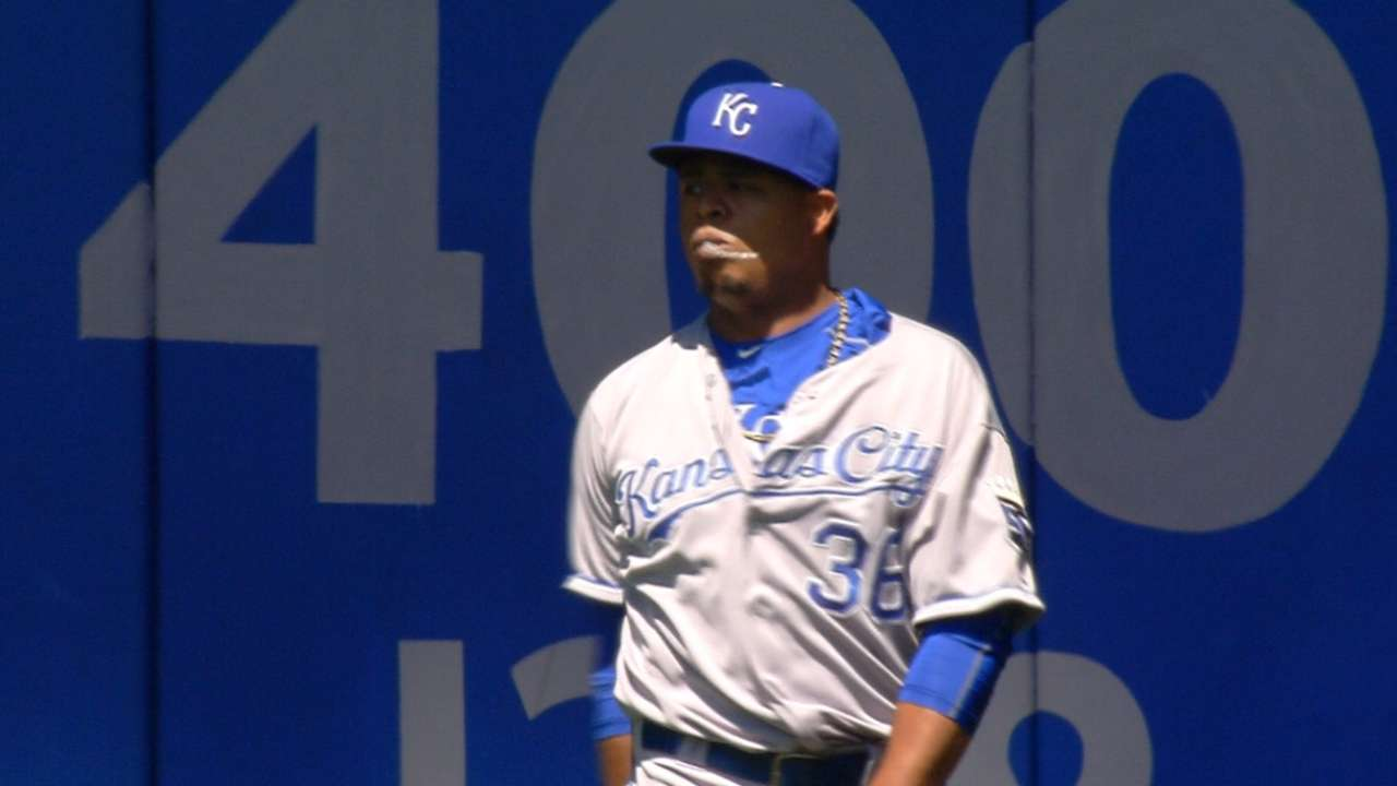 Volquez miffed by Donaldson's angry actions