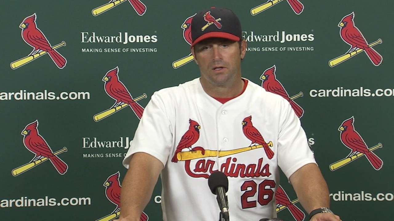 Matheny on Cards' walk-off win