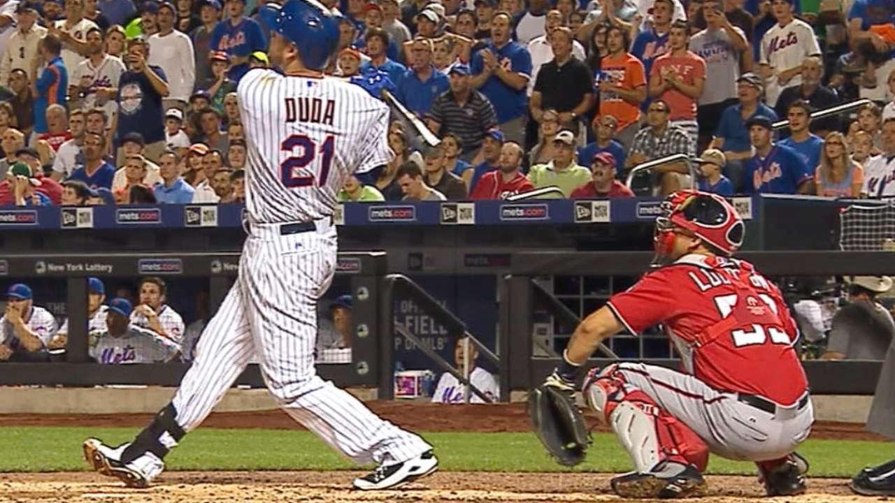 Duda turns into home run machine