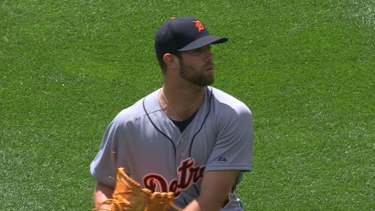 Norris cools Orioles in stellar Tigers debut