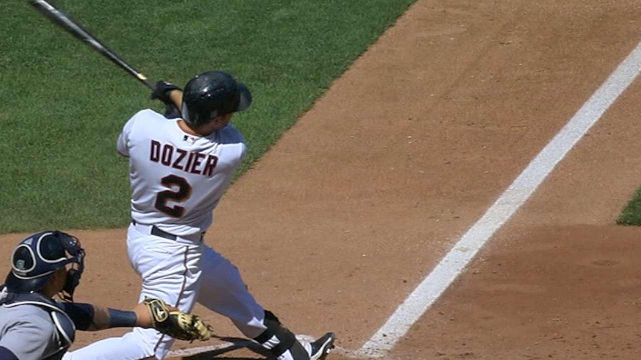 Must C: Dozier ties the game