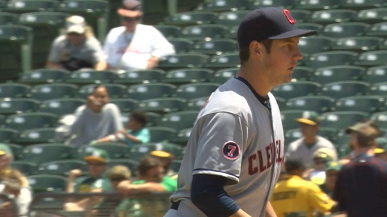 Bauer latest Tribe starter to get scant support