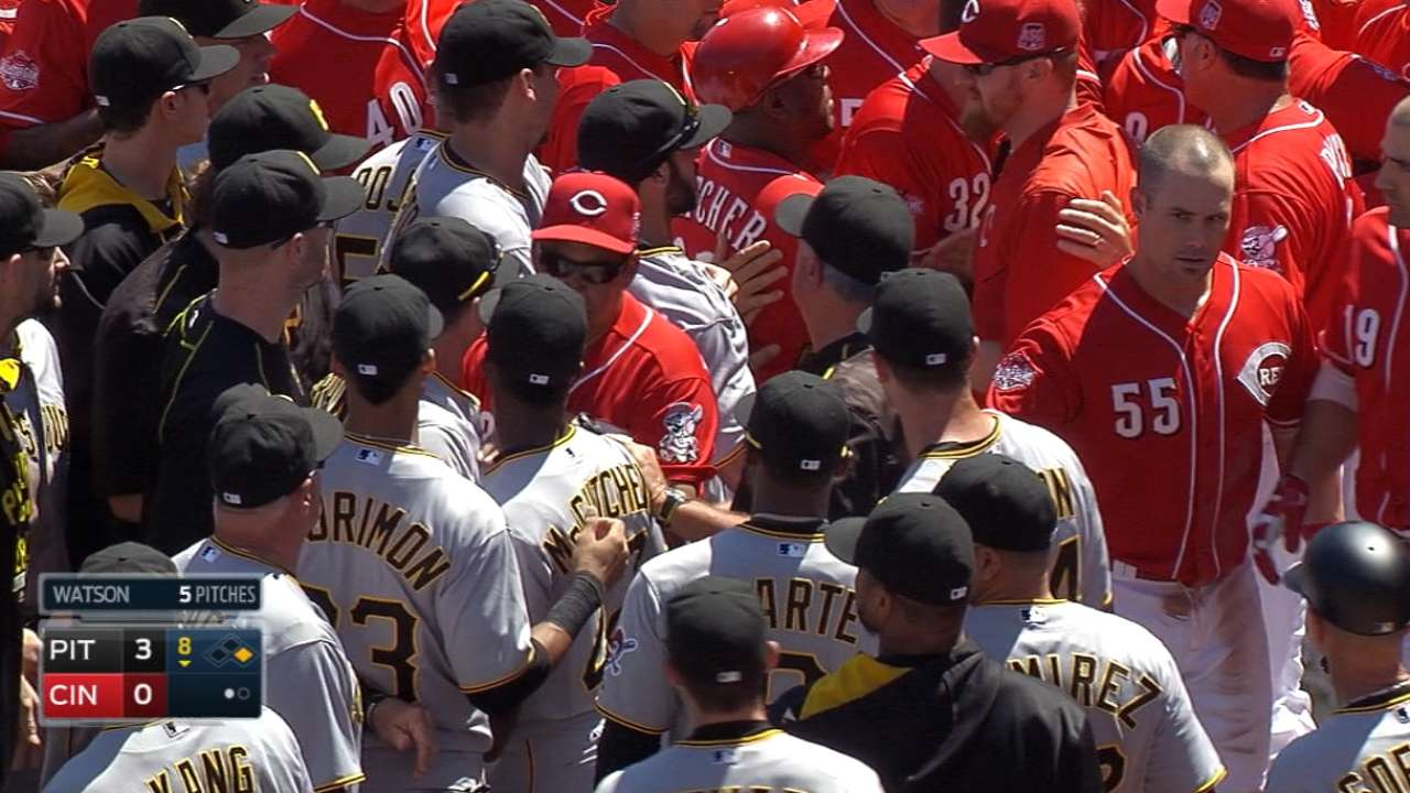 Reds, Pirates on tension