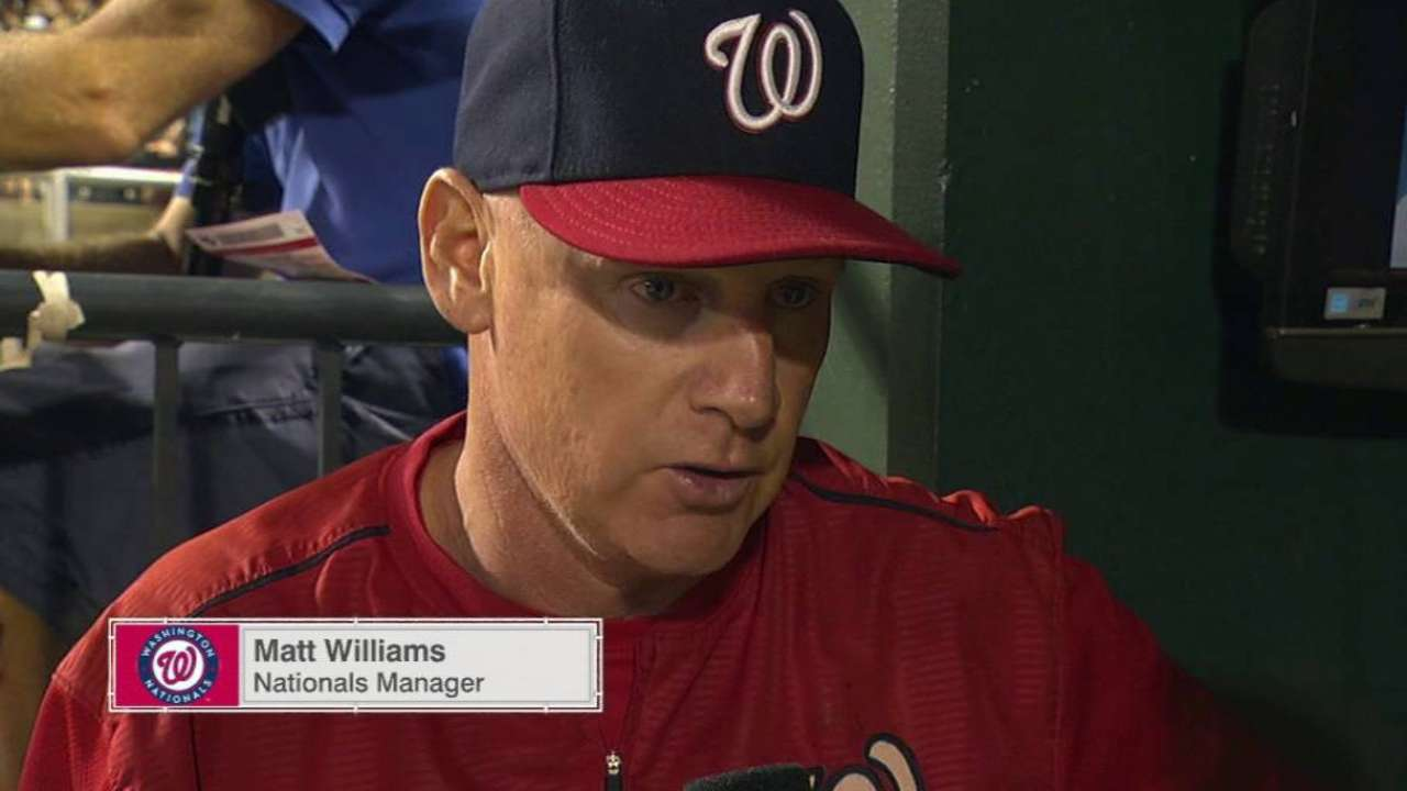 Nationals not about to push the panic button
