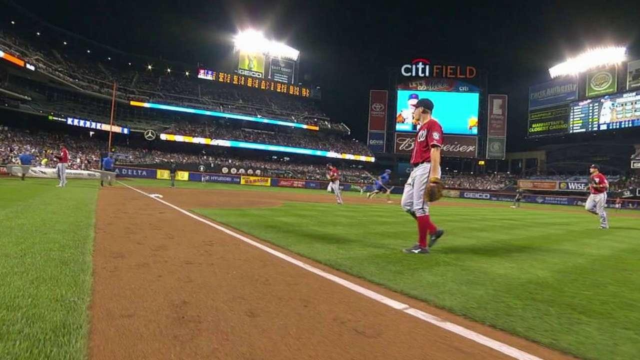 Zimmermann stung by one bad inning vs. Mets