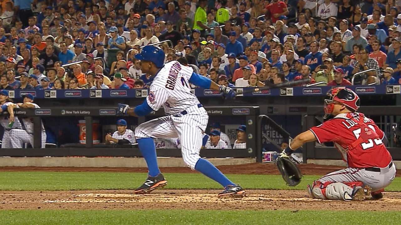 Red-hot Duda caps Mets' three-HR inning