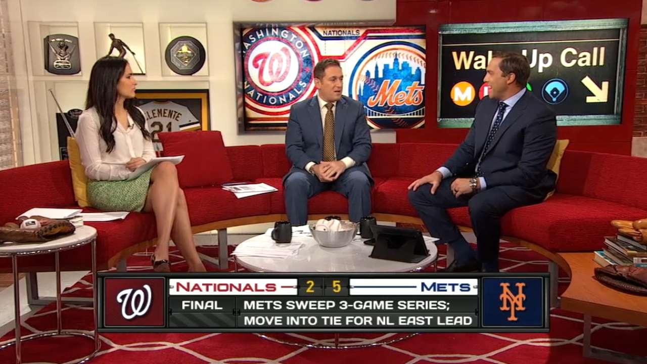 MLB Central on Mets' sweep