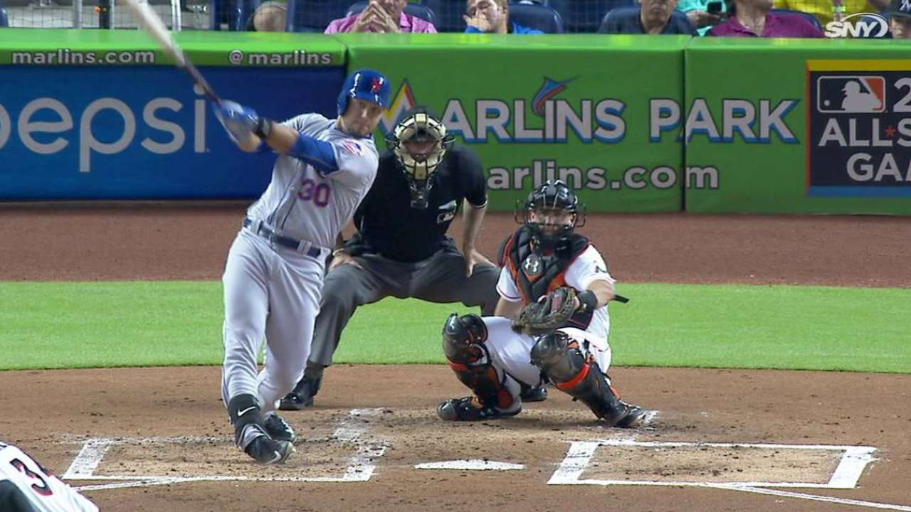 Conforto's three-run blast