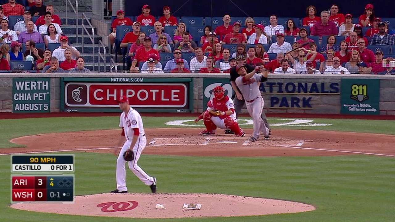 Castillo's back-to-back blast